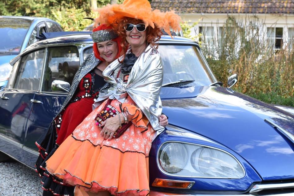 Toerrit van de 35-jarige Citroën Club